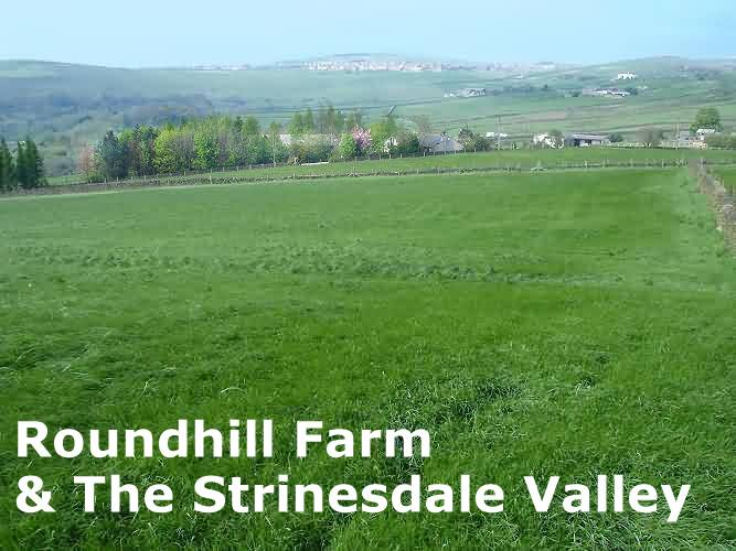 View of Roundhill Farm & The Strinesdale Valley